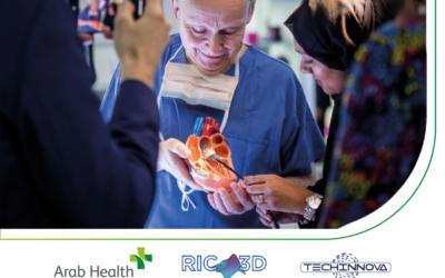 Emirati Arabi: RIC3D e Techinnova all'Arab Health 2021 di Dubai.