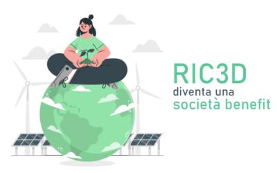 RIC3D È SOCIETÀ BENEFIT